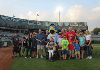 Trenton Thunder: Visit and Game