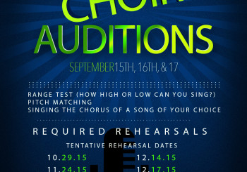 NHA CHOIR AUDITIONS