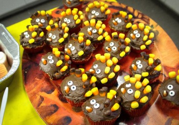 NHA Thanksgiving Day Feast Turkey Cupcakes