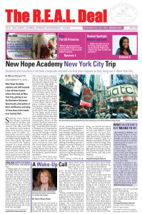 The official student led newspaper from New Hope Academy