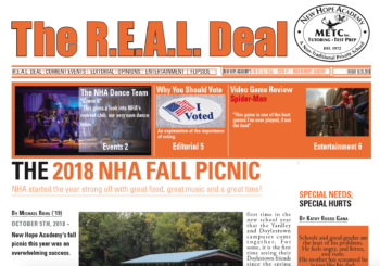 The R.E.A.L. Deal Newspaper 2018 Issue 1