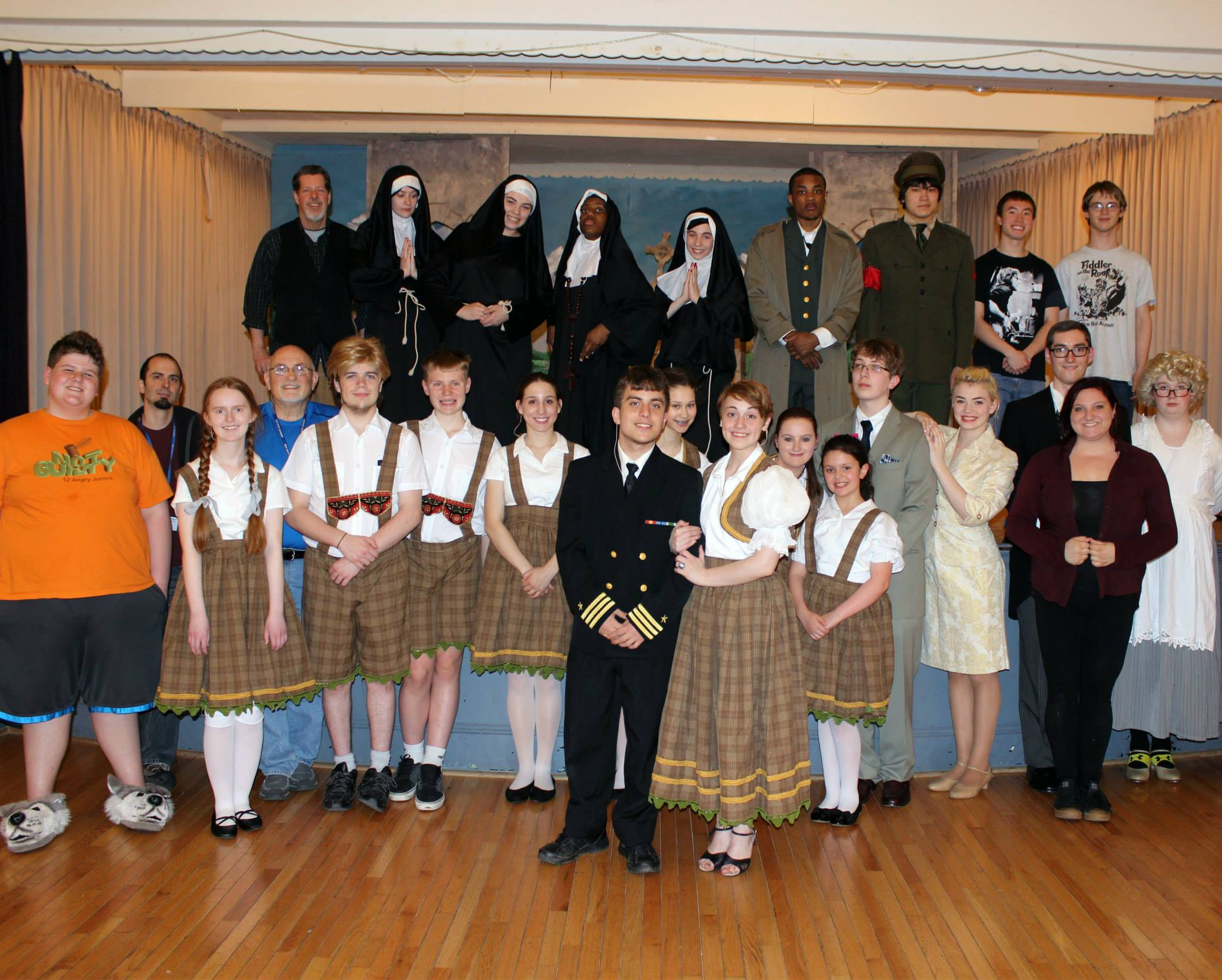 NHA Cast and Crew of The Sound of Music