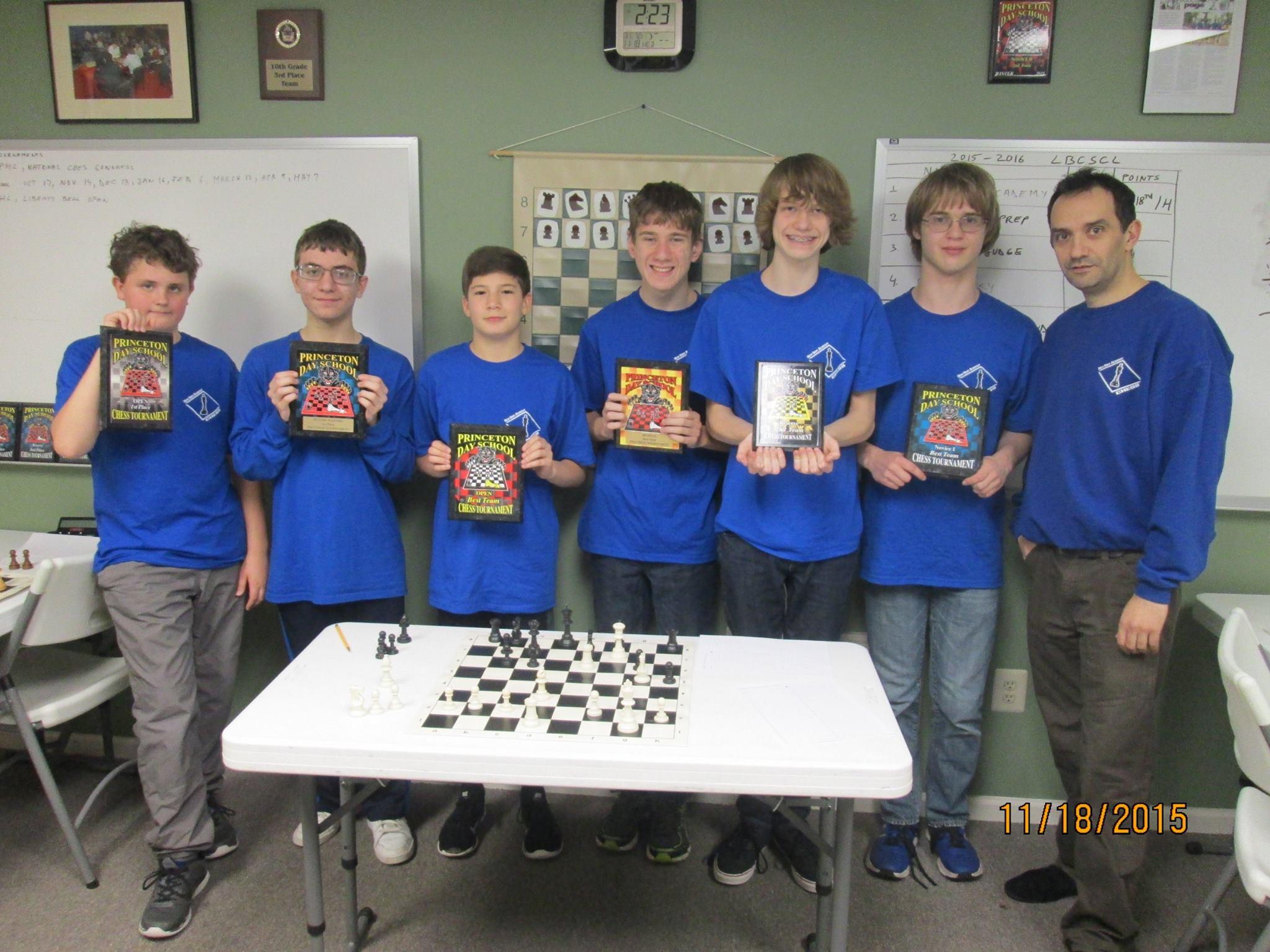 Chess Team 11/18/2015